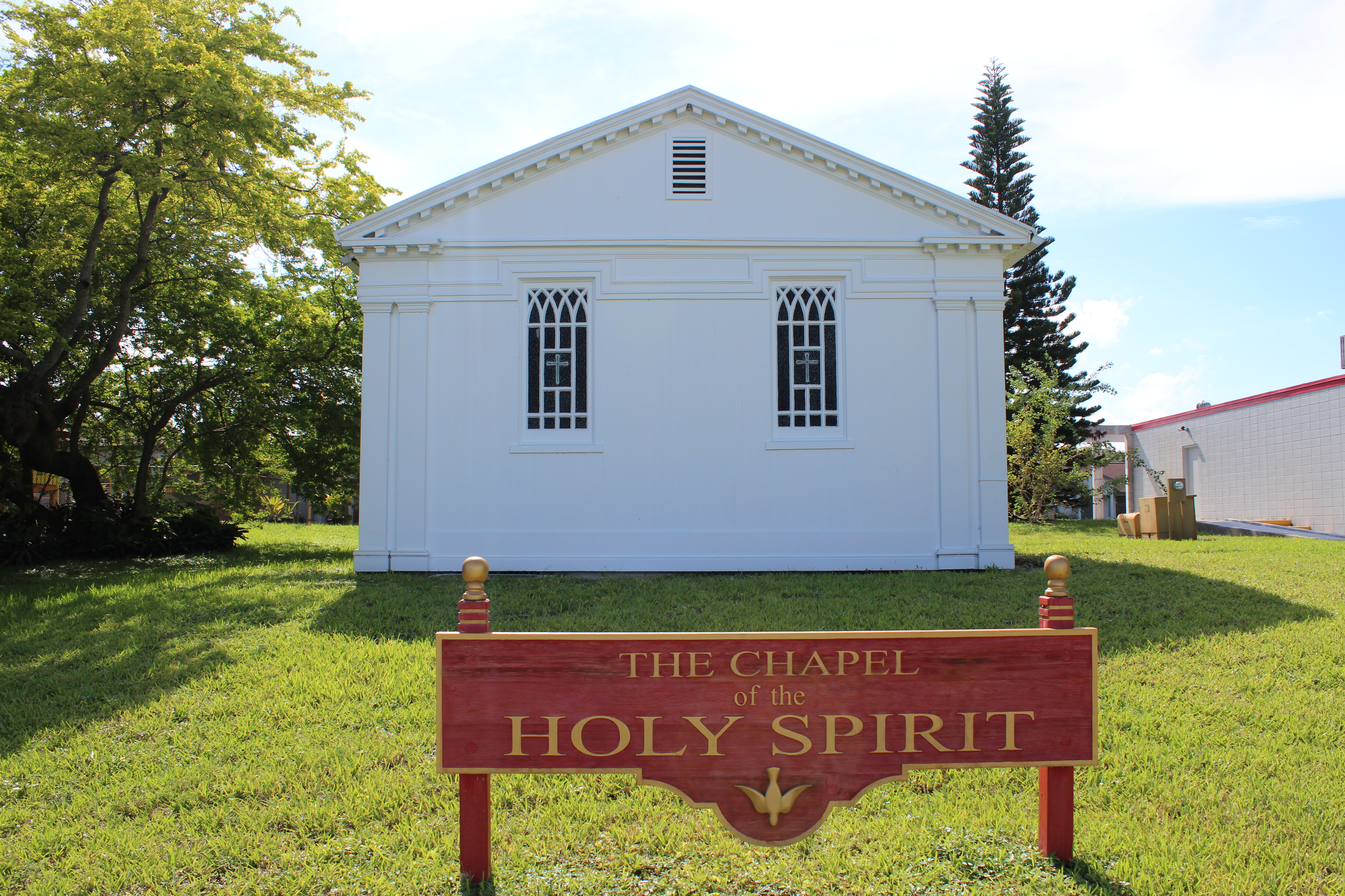 The Chapel of the Holy Spirit -Holy Guardian Angels, Lantana Florida